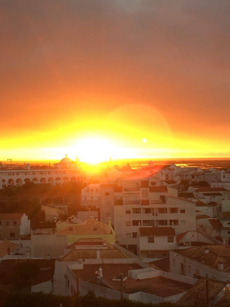 Sonnenaufgang Tavira